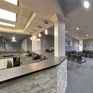 Office Waiting Area at Resler Orthodontics in Saginaw and Clio MI